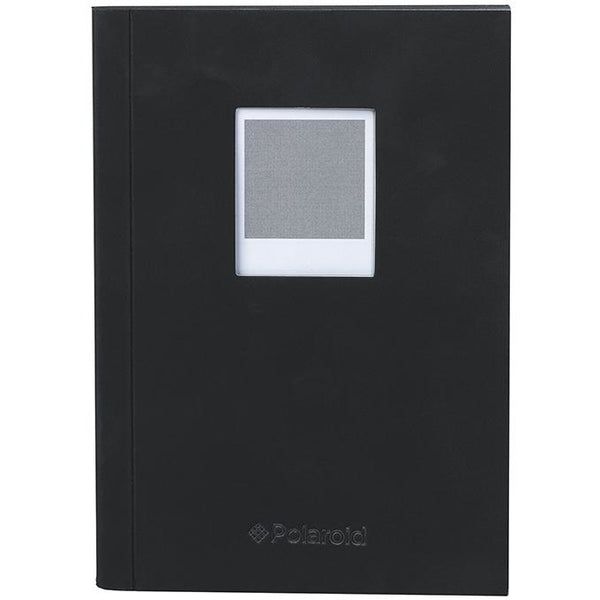 Polaroid Soft Touch Small Notebook Black