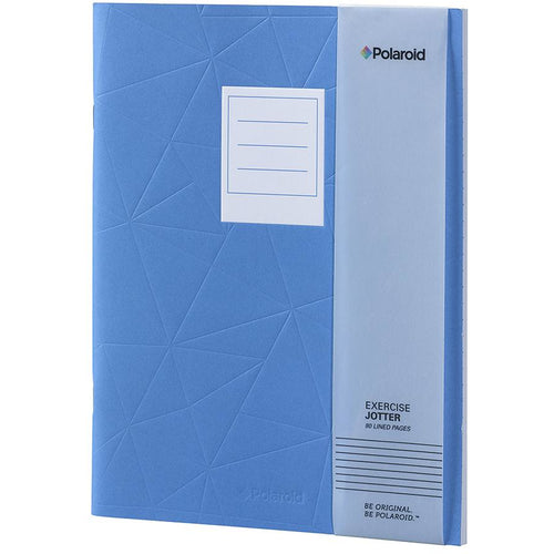 Polaroid Lined Jotter Notebook Large - Blue