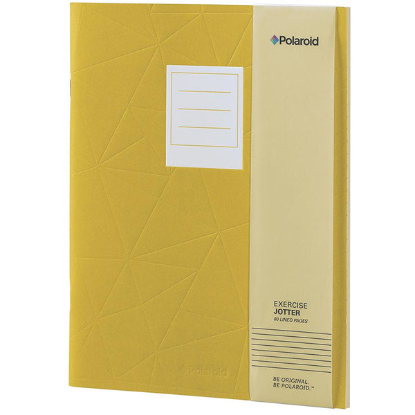 Polaroid Lined Jotter Notebook Large - Yellow