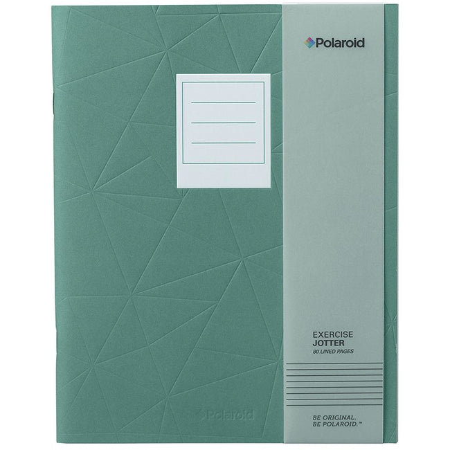 Polaroid Lined Jotter Notebook Large - Turquoise