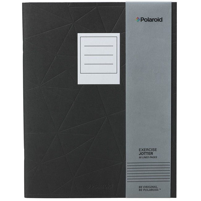 Polaroid Lined Jotter Notebook Large - Black