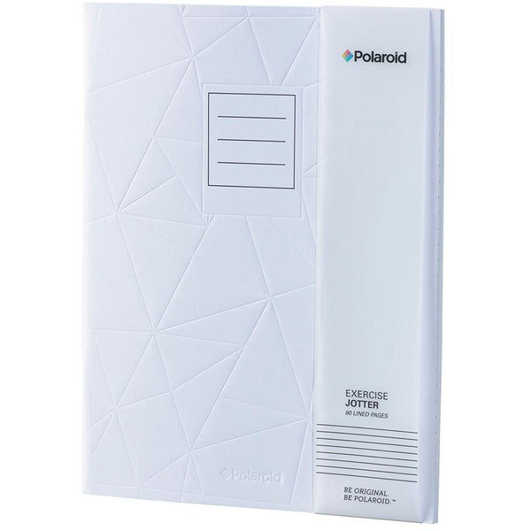 Polaroid Lined Jotter Notebook Large - White