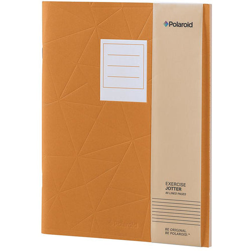 Polaroid Lined Jotter Notebook Large - Orange