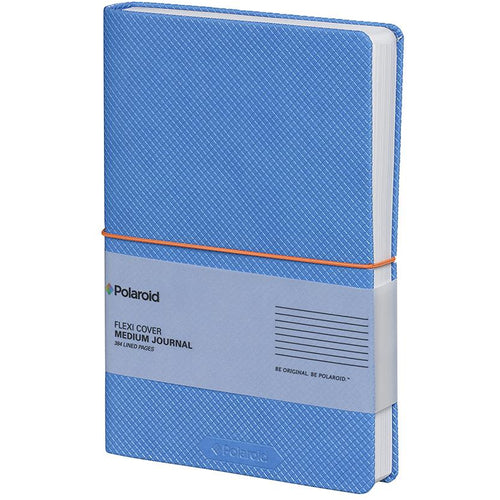 Polaroid Flexi-Cover Medium Journal - Blue