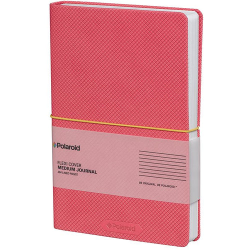 Polaroid Flexi-Cover Medium Journal - Pink