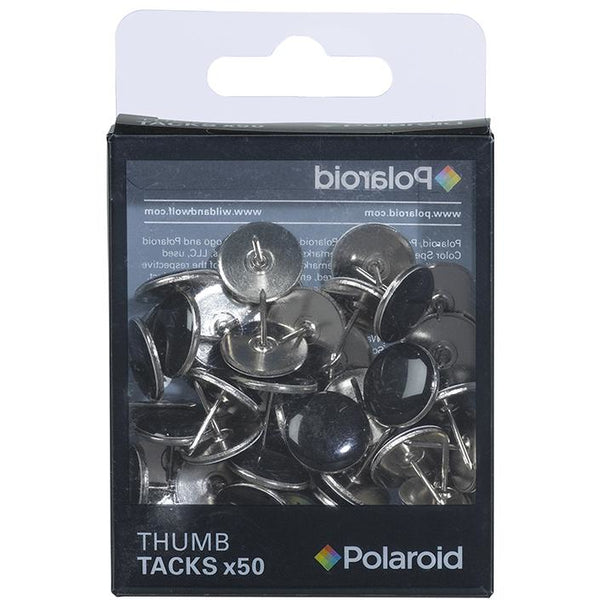 Polaroid Thumb Tacks - Black
