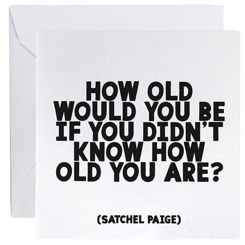 Card - How Old Would You Be