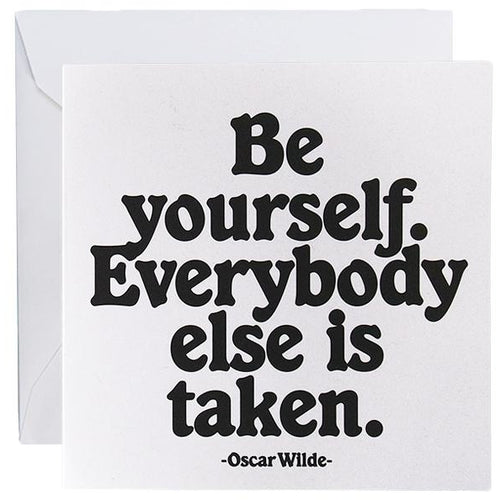 Card - Be Yourself