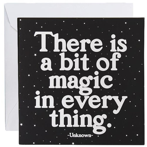Card - There Is A Bit Of Magic