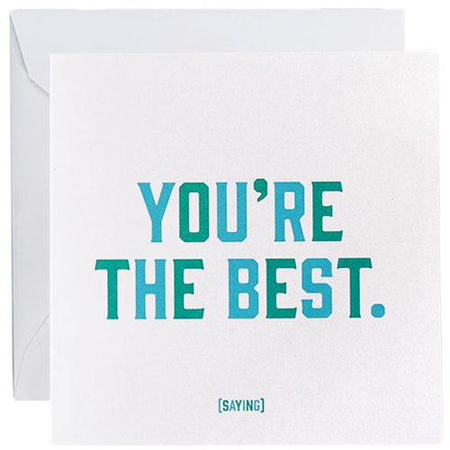 Card - You Are The Best