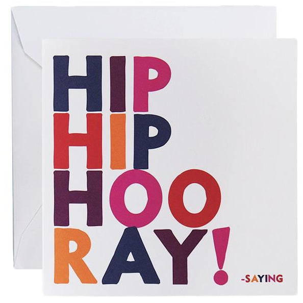 Card - Hoo Ray
