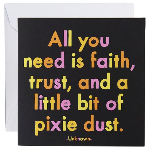 Card - Pixie Dust
