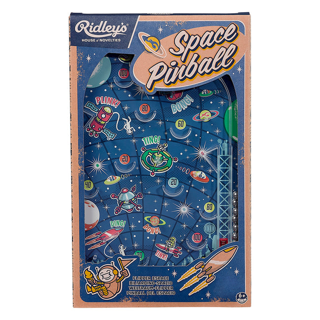 Ridley's Intergalactic Space Pinball Game
