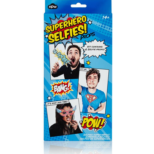 Selfie Kit Superheros