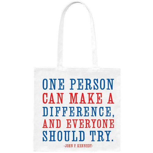 Tote - One Person can make a dfference