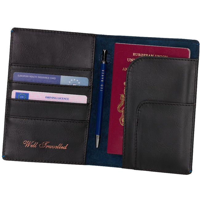 Ted Baker Voyager Travel Wallet & Pen