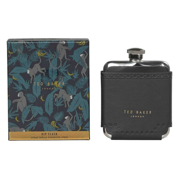 Ted Baker Hip Flask - Brogue Monkian (Black)