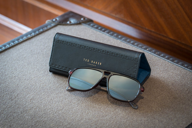 Ted Baker - Brogue Monkian Sunglass Case