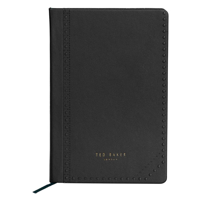 Ted Baker Brogue Monkian - A5 Notebook (Black)
