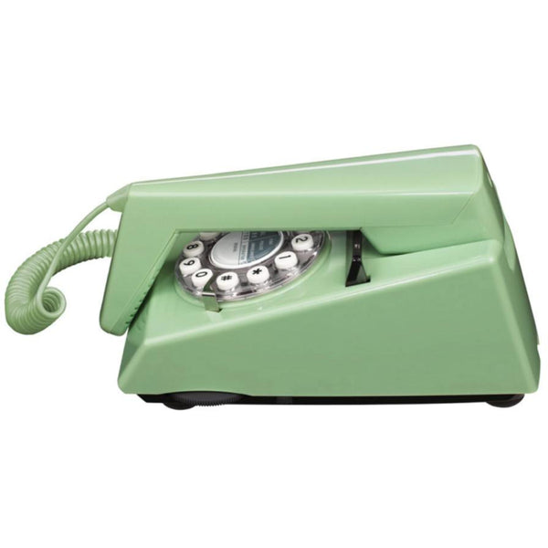 Vintage Trim Phone - Swedish Green