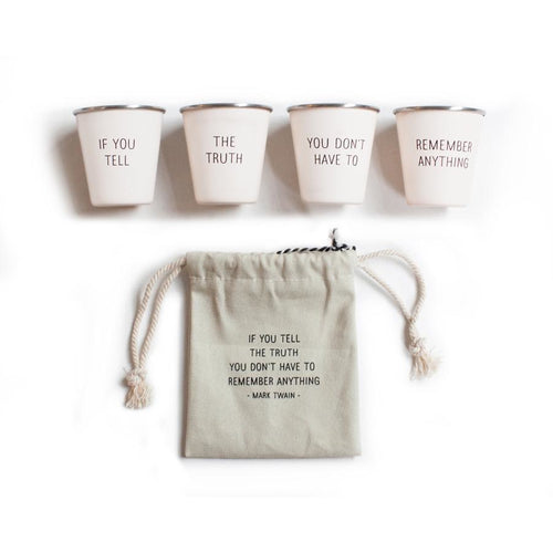 Shot Glass Set- Twain