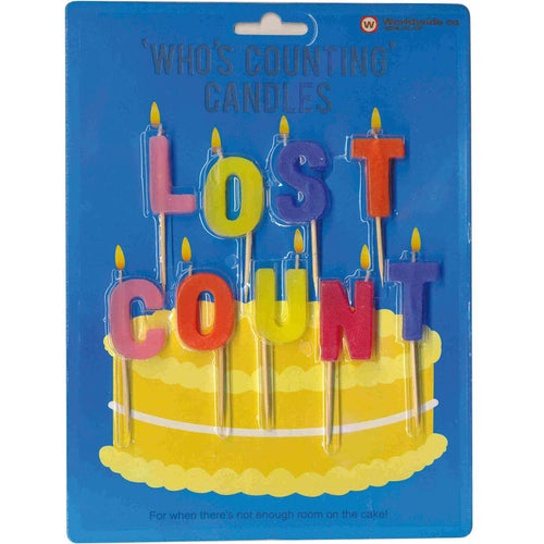 Who's Counting Candles - Lost Count