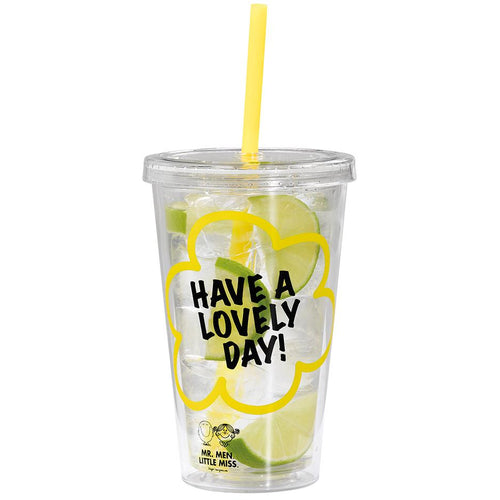 Little Miss Sunshine Tumbler with straw