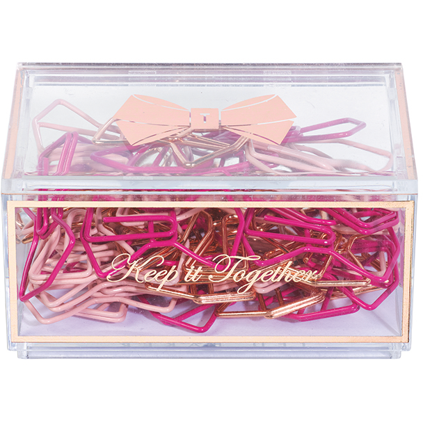 Ted Baker Bow Shaped Paper Clips
