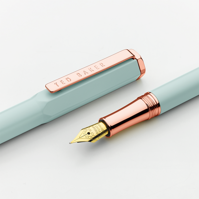 Ted Baker Premium Fountain Pen - Aquamarine