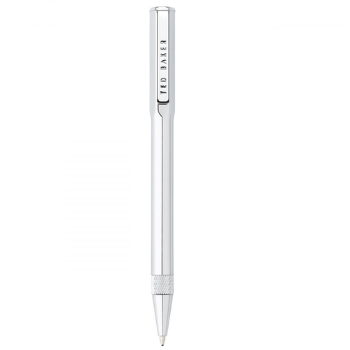 Ted Baker Premium Ballpoint Pen - Chrome