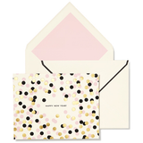 Kate Spade Notecard - Confetti New Year