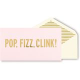 Kate Spade Holiday Card, Pop Fizz Clink