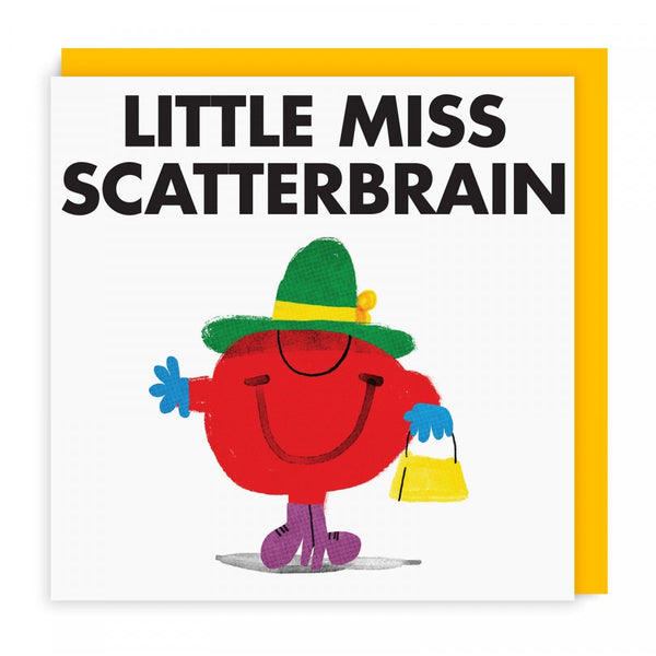 Little Miss Scatterbrain Greeting Card