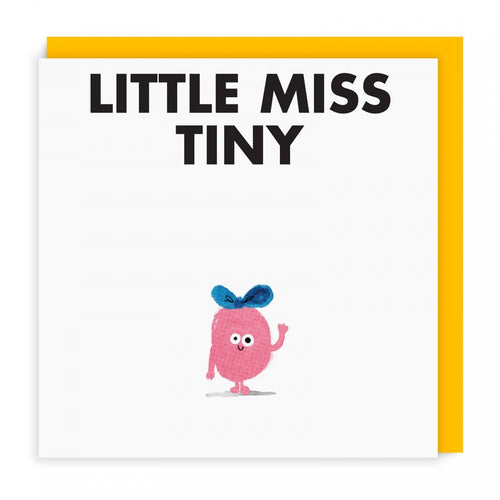 Little Miss Tiny Greeting Card