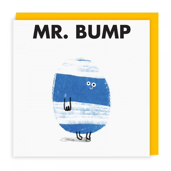 Mr Bump Greeting Card