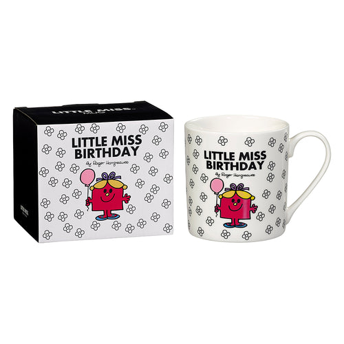 Little Miss Birthday Mug (B&W)
