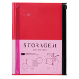 STORAGE.It Notebook L - Red