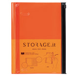 STORAGE.It Notebook L - Orange