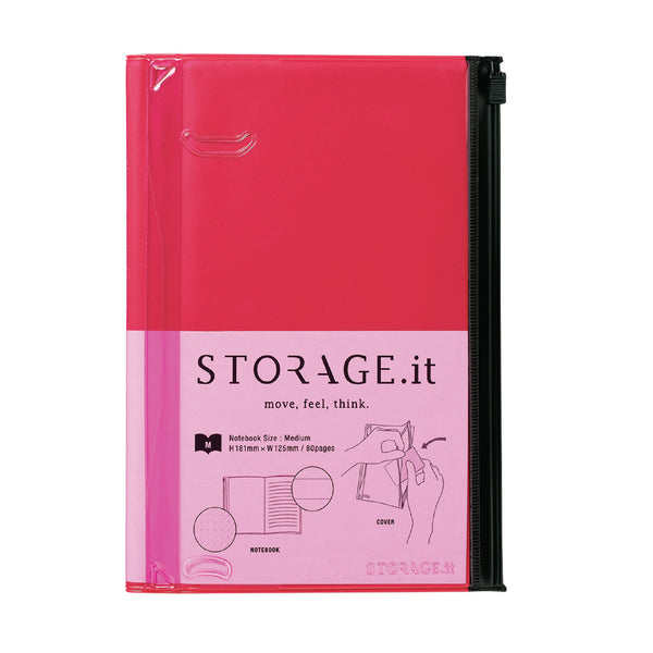 STORAGE.It Notebook M - Red