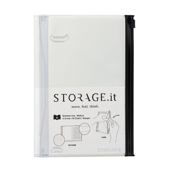 STORAGE.It Notebook M - White