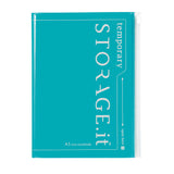 STORAGE.It A5 Notebook - Turquoise
