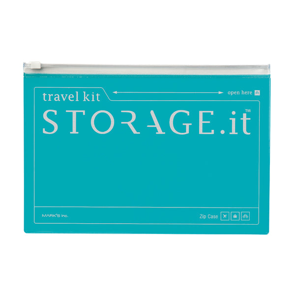 STORAGE.It Zip Case - Turquoise
