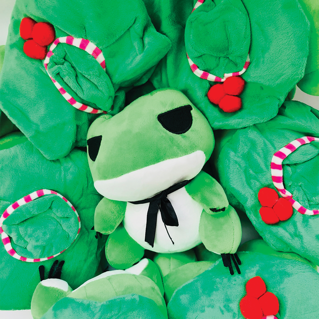 Tabi-kaeru Travelling frog - with Blanket