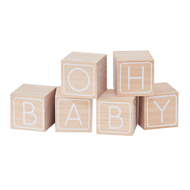 Baby Blocks Guest Book