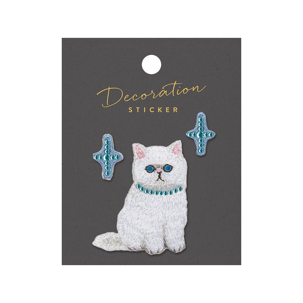 Embroidery Sticker - Cat