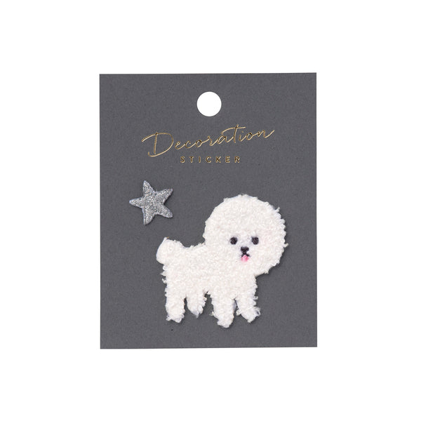Embroidery Sticker - Bichon Frise