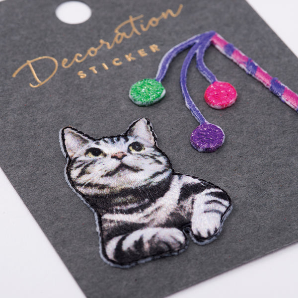 Embroidery Sticker - American Shorthair
