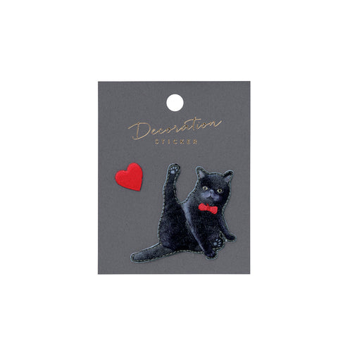Embroidery Sticker - Exotic Shorthair