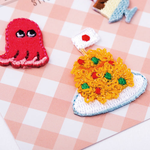Embroidery Sticker - Children Lunch