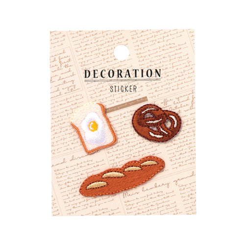 Embroidery Sticker - Bread
